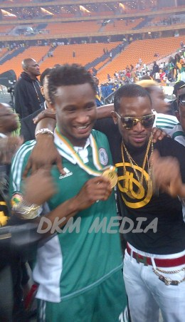 dbanj at afcon