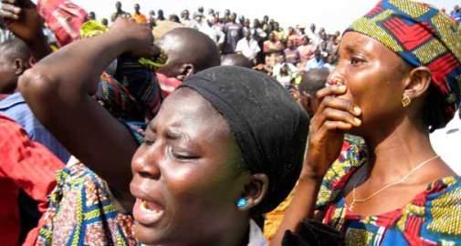 Women-weeping