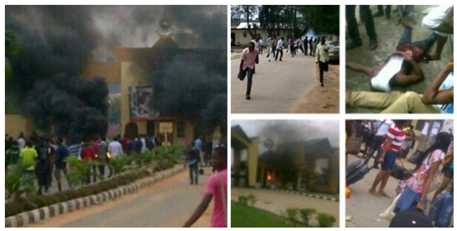 Riot at University of Uyo leaves one student dead