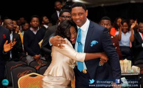 Pastor Biodun Fatoyinbo of COZA speaks in church
